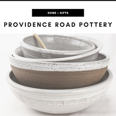 Providence Road Pottery - Nashville, TN Local Gifts