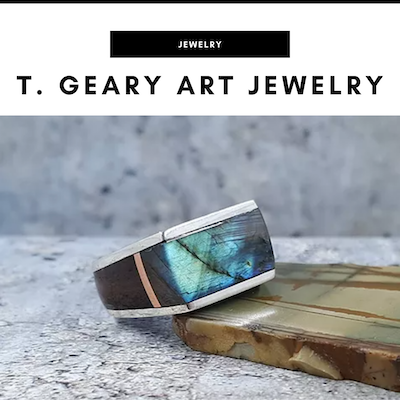 T. Geary Art Jewelry - Nashville, TN Local Gifts