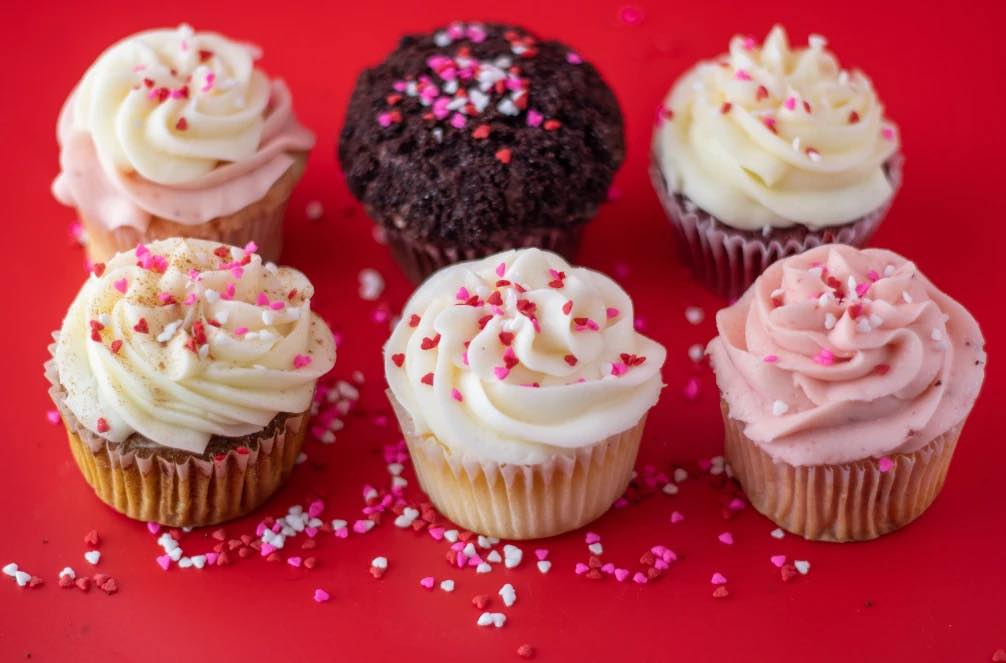 Cupcake Collection limited-edition Valentine's Day assortment