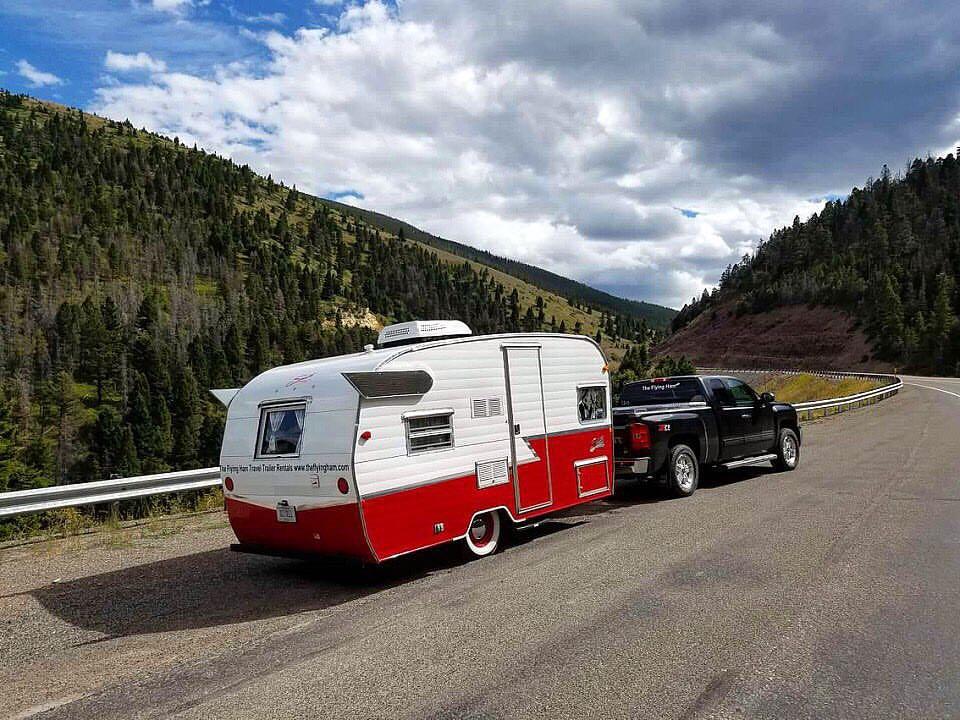 The Flying Ham travel trailer rentals in Nashville, TN