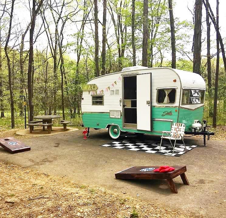 The Flying Ham camper rentals Nashville, TN