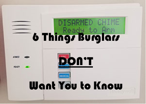 6 Things Burglars Don't Want You to Know