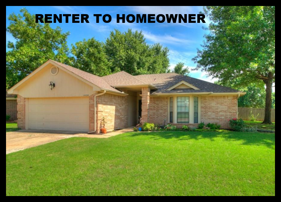 Making A Move? Renter to HomeOwner!